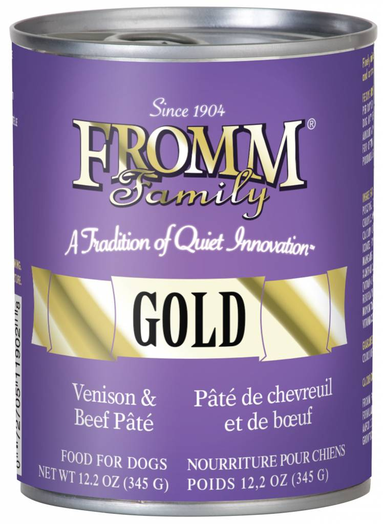 FROMM Fromm Gold Pate Venison and Beef 12.2oz