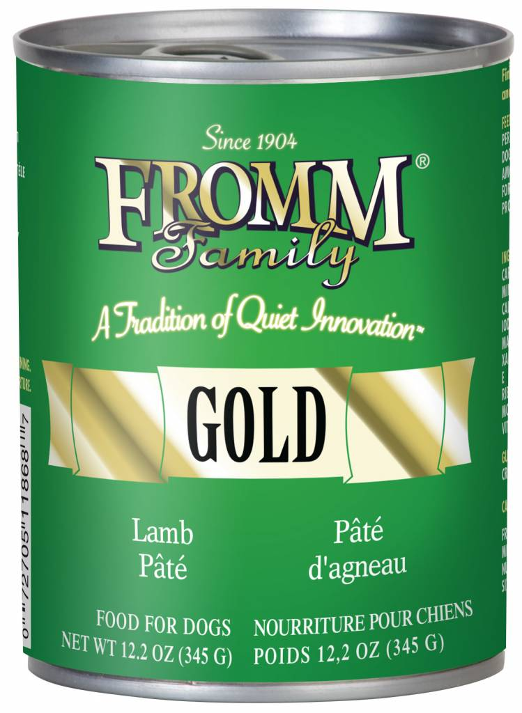FROMM Fromm Gold Pate Lamb 12.2oz