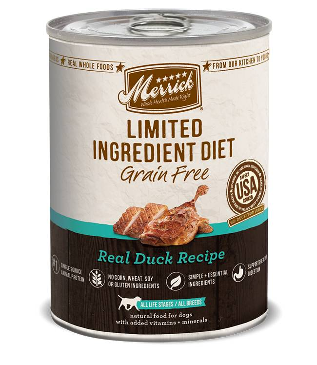 MERRICK Merrick Limited Ingredient Diet Grain-Free Duck 12.7 oz Can