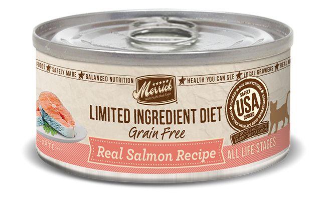 MERRICK Merrick Cat Limited Ingredient Diet Grain-Free Slmn 5.5 oz Can