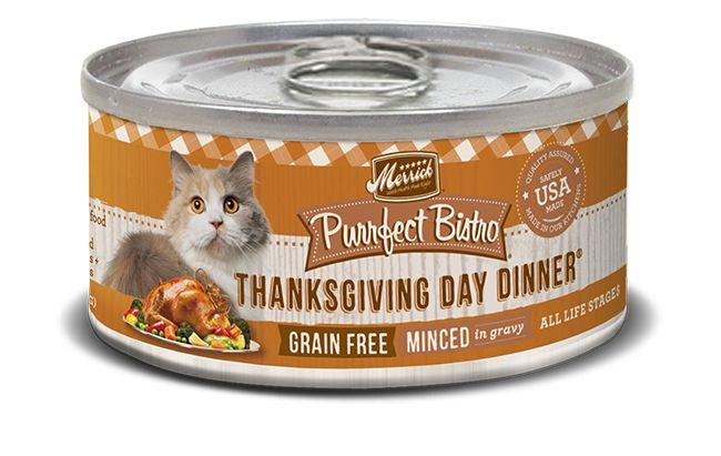 MERRICK Merrick Purrfect Bistro Cat Thanksgiving Day 3 oz Can