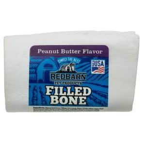 Redbarn Filled Bone Peanut Butter Small