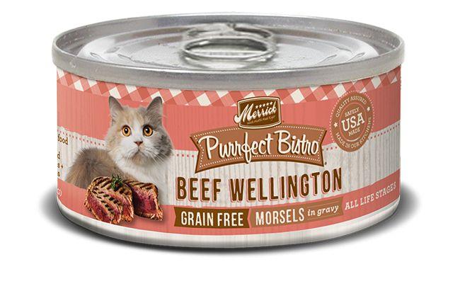 MERRICK Merrick Purrfect Bistro Cat Beef Wellington 5.5 oz Can