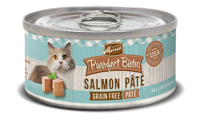 MERRICK Merrick Purrfect Bistro Cat Salmon Pate 5.5 oz Can