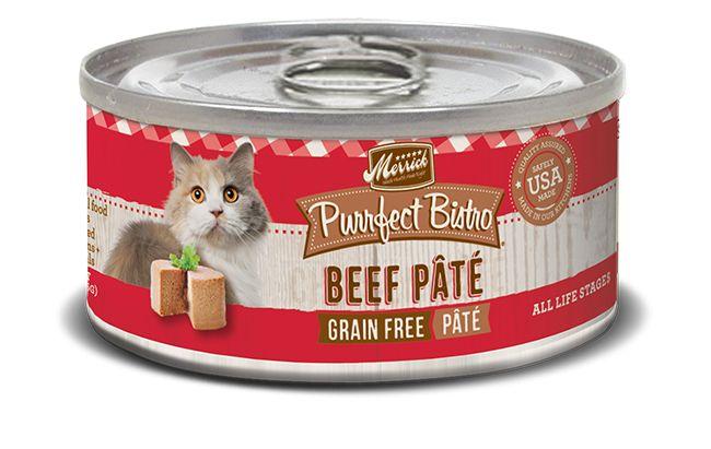 MERRICK Merrick Purrfect Bistro Cat Beef Pate 3 oz Can