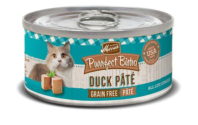 MERRICK Merrick Purrfect Bistro Cat Duck Pate 3 oz Can