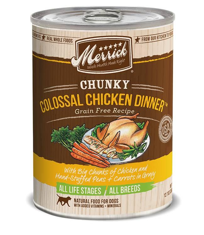 MERRICK Merrick Chunky Colossal Chicken Dinner 12.7 oz