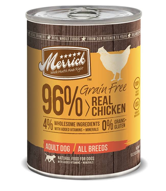 MERRICK Merrick Grain Free Chicken 96% 13.2 oz