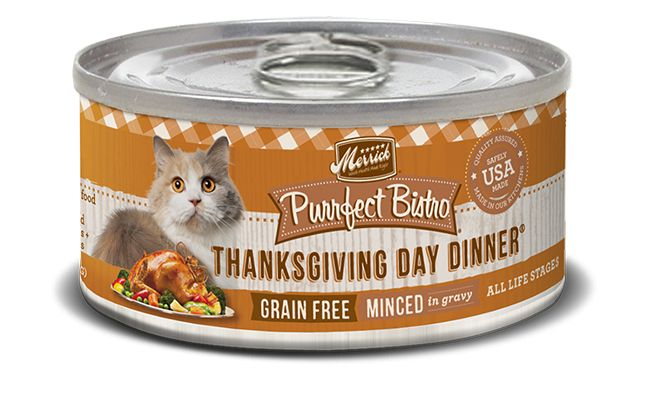 MERRICK Merrick Purrfect Bistro Cat Thanksgiving Day 5.5 oz Can