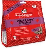 STELLA & CHEWY'S Stella & Chewy's Freeze Dried Meal  Mixers TantalizingTurkey 18OZ
