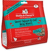 STELLA & CHEWY'S Stella & Chewy's Freeze Dried Meal Mixers Salmon/Cod 3.5OZ