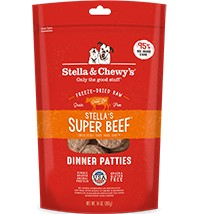 STELLA & CHEWY'S Stella & Chewy's Freeze Dried Beef Dinner Patties 14OZ