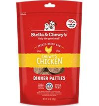 Stella & Chewys Stella & Chewy's Freeze Dried Chicken Dinner Patties 25OZ