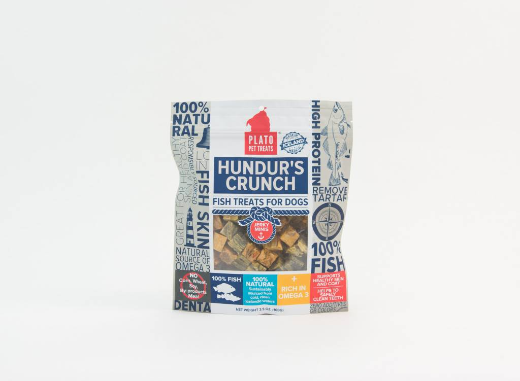 PLATO PET TREATS Plato Hundor's Crunch -