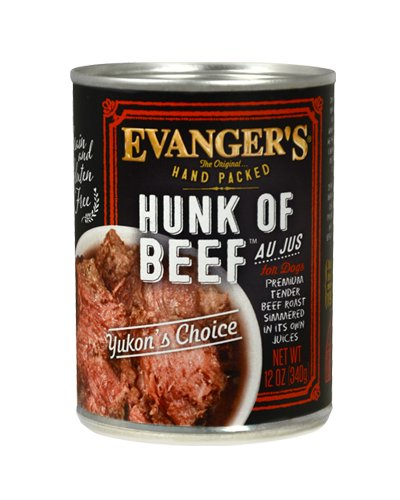 EVANGERS Evangers Hand Packed  Hunk of Beef 13 oz