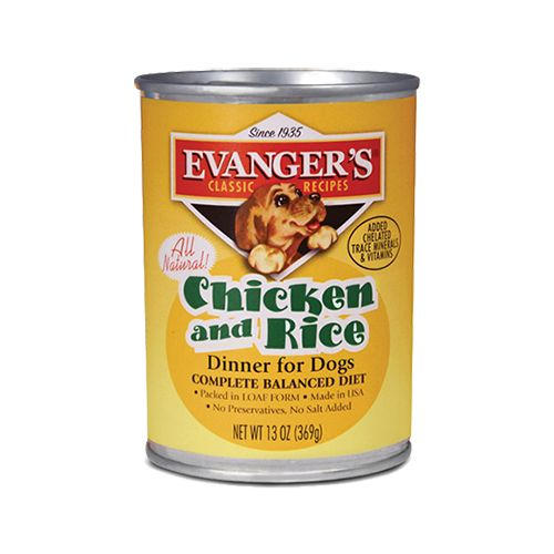EVANGERS Evangers Classic Chicken/Rice 12.8 oz Can