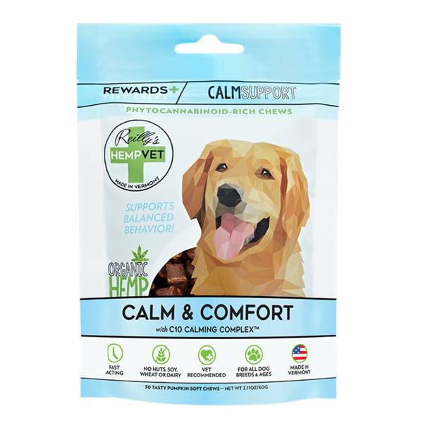 Reilly Hemp Hempvet CBD Rewards 30ct Calm Support
