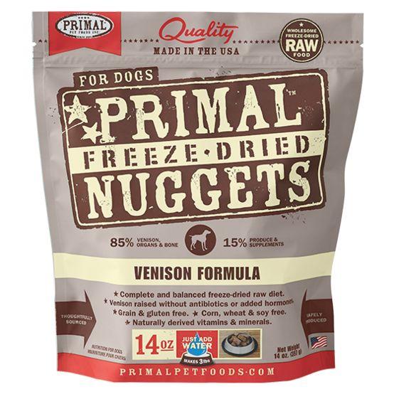 PRIMAL Primal Cat Freeze Dried Nuggets Venison 5.5OZ