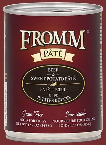 FROMM Fromm Grain Free Pate 12.2OZ Beef & Sweet Potato