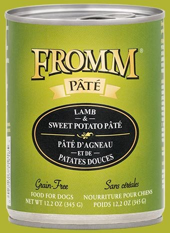 FROMM Fromm Grain Free Pate 12.2OZ Lamb & Sweet Potato