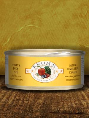 FROMM Fromm Cat Four-Star Pate Turkey and Duck 5.5oz