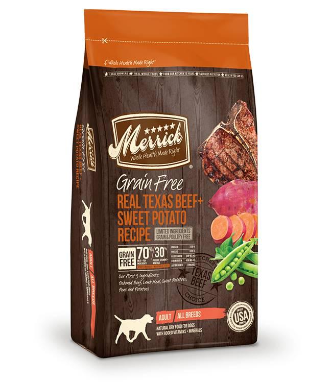 MERRICK Merrick Grain Free Beef & Sweet Potato