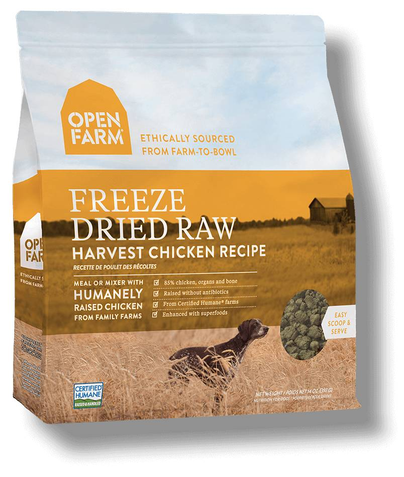 Open Farm Open Farm Freeze Dried Raw Harvest Chicken 13.5 oz