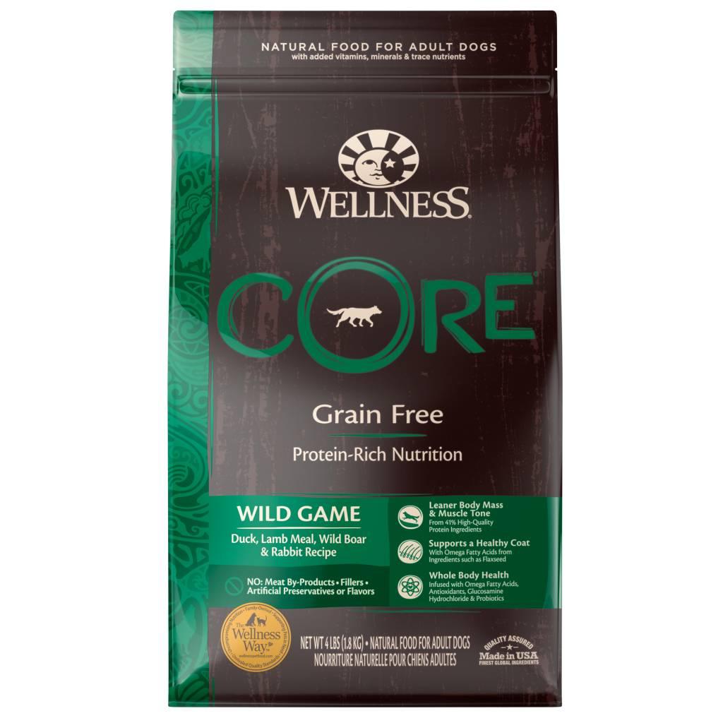 WELLNESS Wellpet Core Wild Game