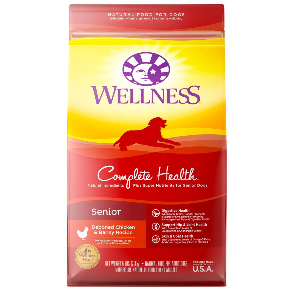 WELLNESS Wellpet Complete Health Senior Chicken 5lb