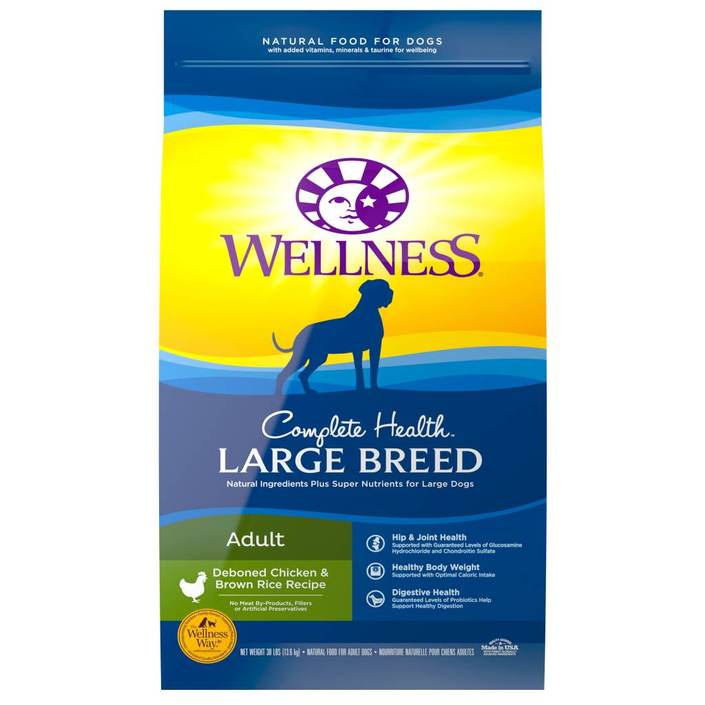 WELLNESS Wellpet Complete Health Adult Large Breed Chicken -