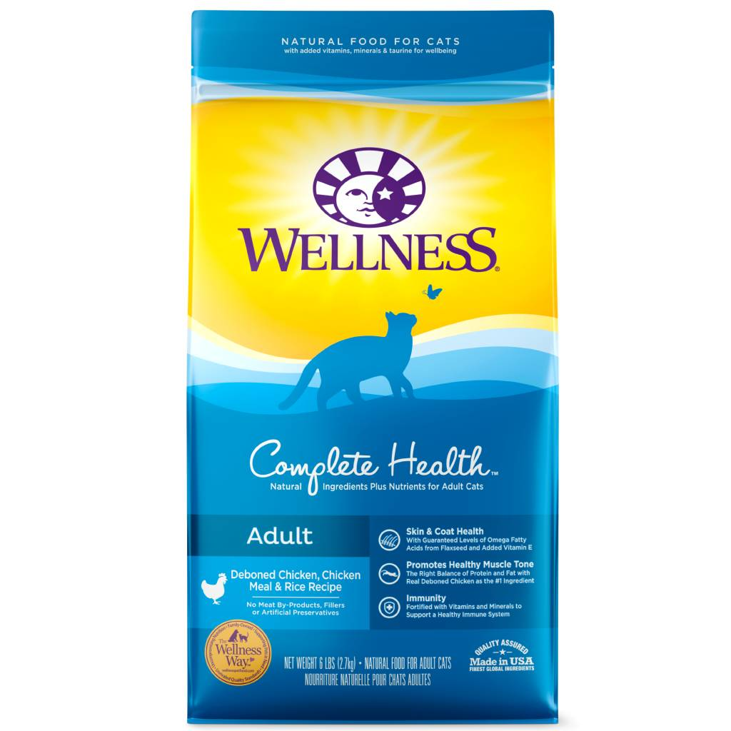 WELLNESS Wellpet Cat Complete Health Adult Chicken