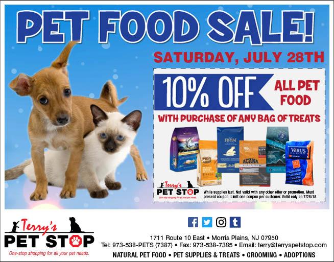 pet food sale