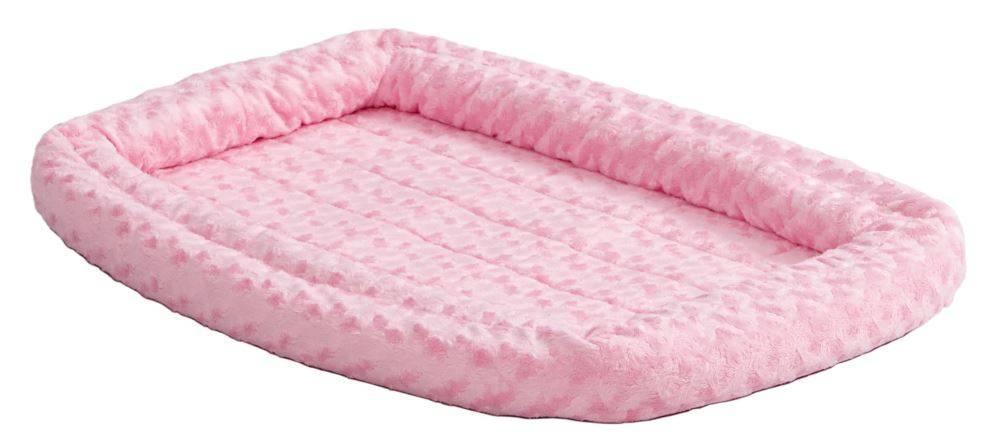 MIDWEST Midwest Quiettime Sheepskin Bumper Pink -