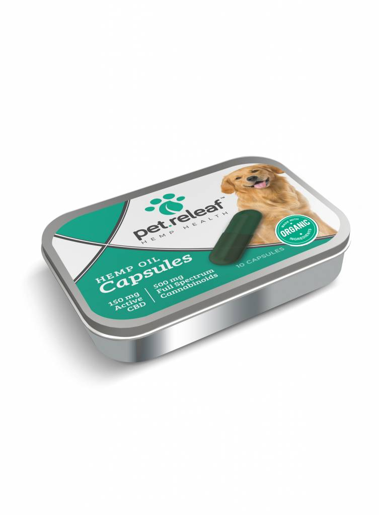 Pet Releaf Pet Releaf Hemp Oil Capsules Tin