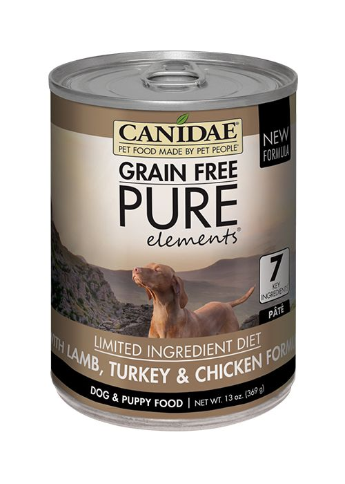 CANIDAE Canidae Grain Free Pure Chicken/Turkey/Lamb 13oz