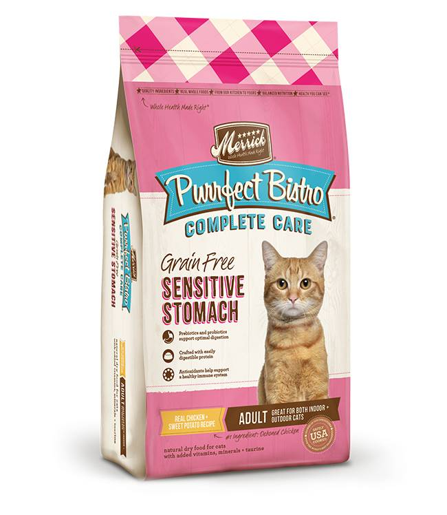 MERRICK Merrick Purrfect Bistro Grain Free Sensitive Stomach -