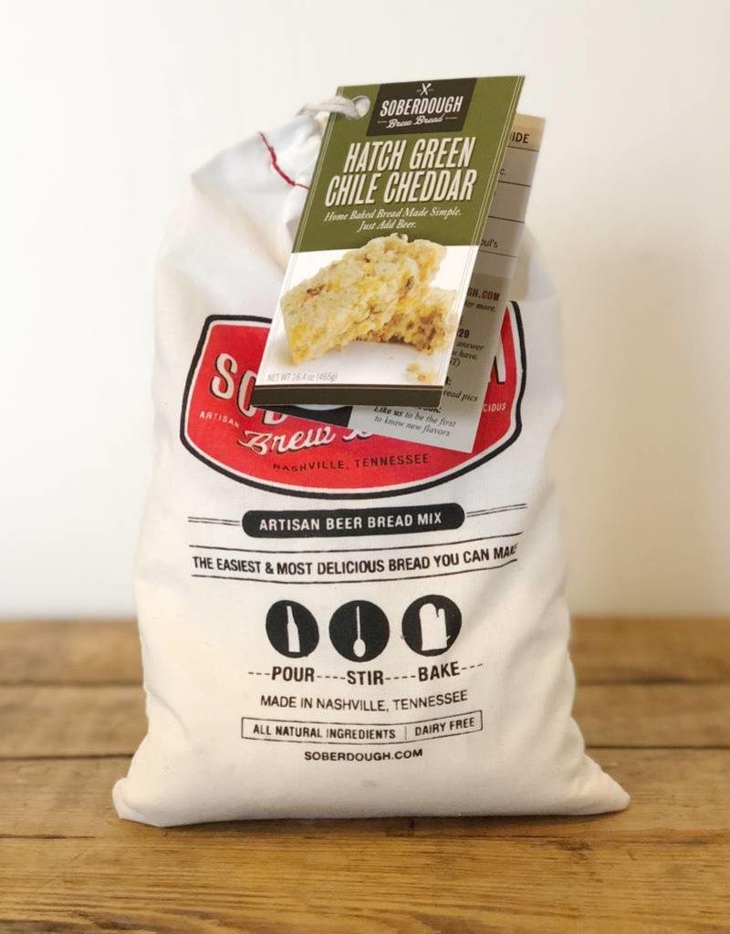 Green Chile Cheddar Brew Bread