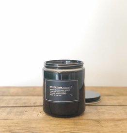 Leather & Smoke Candle