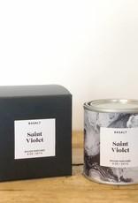 Saint Violet Candle