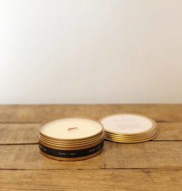 Peony + Salt Candle