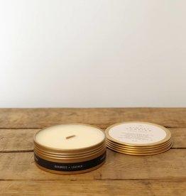 Oakmoss + Leather Candle