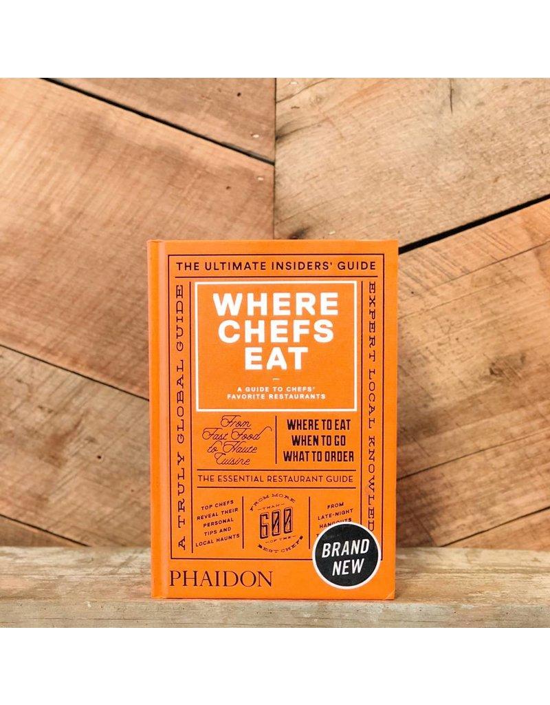 Phaidon Where Chefs Eat