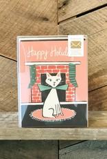 Retro Cat Card Set