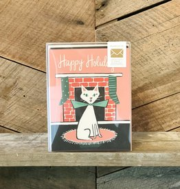Retro Cat Card Set