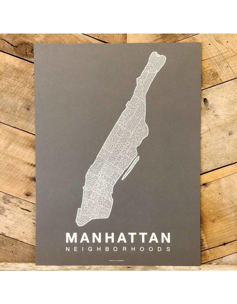 Manhattan Neighborhood Map