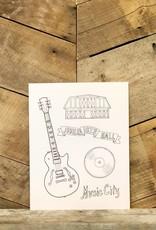 Nashville Coloring Sheets