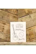 Nashville Coloring Sheets