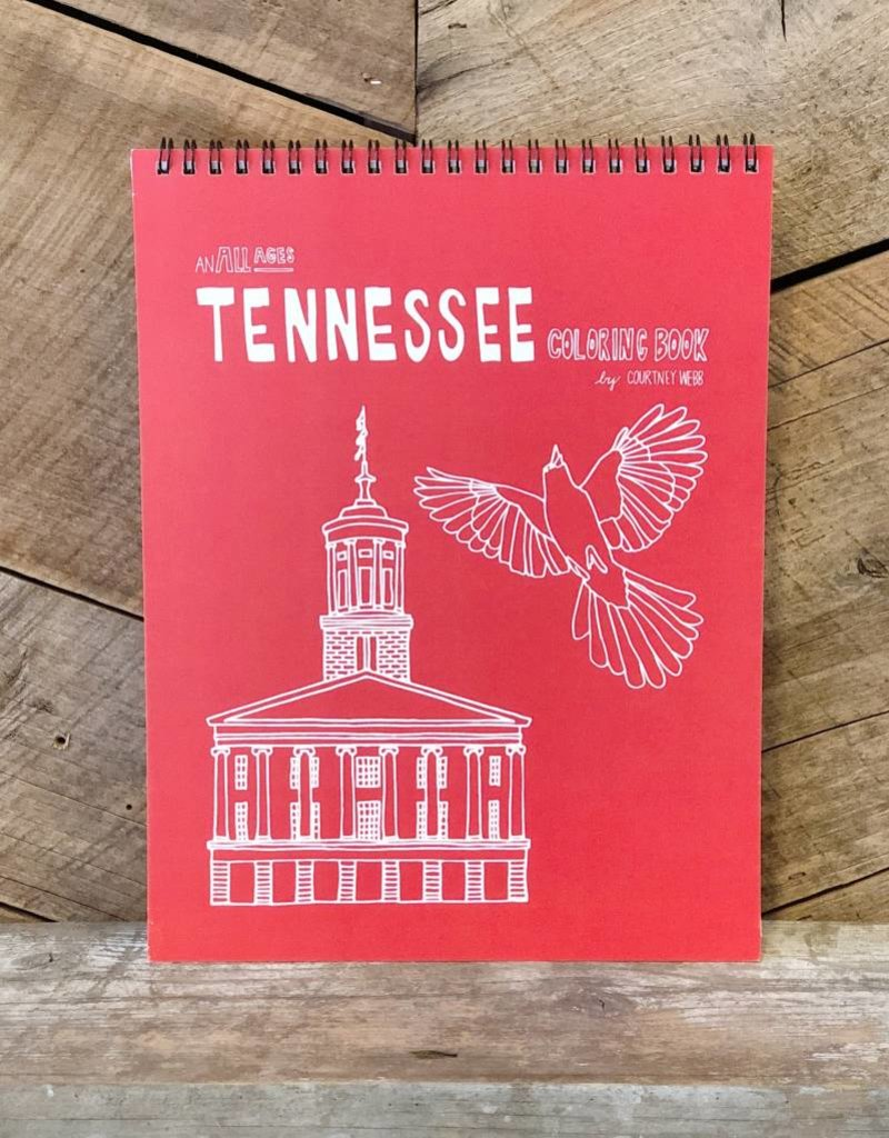 Tennessee Coloring Book