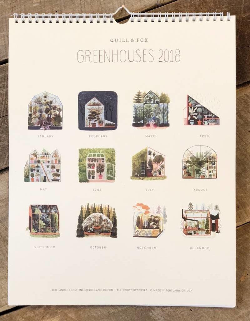 2018 Greenhouses Calendar