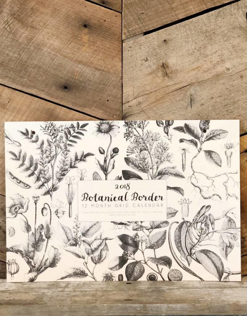 Botanical Desk Calendar